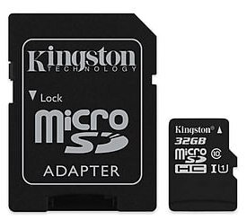 64 GB . microSDXC karta Kingston Class 10 UHS-I