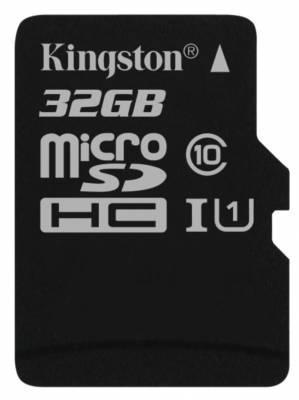 16 GB . microSDHC karta Kingston Class 10 UHS-I